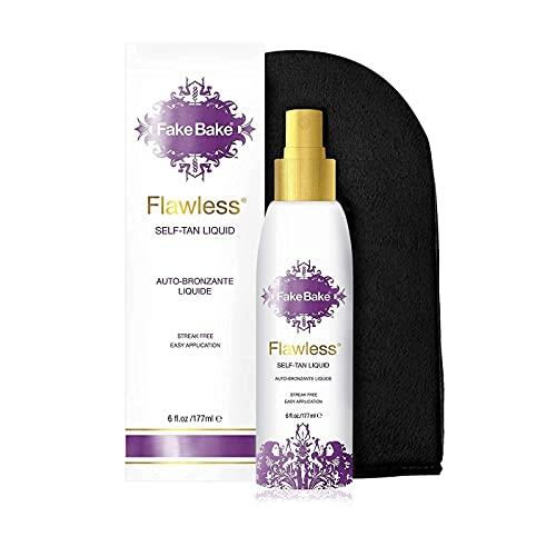 Fake Bake Flawless Self-Tanning Liquid | Streak-Free, Long-Lasting Sunless Natural Glow For All Skin...