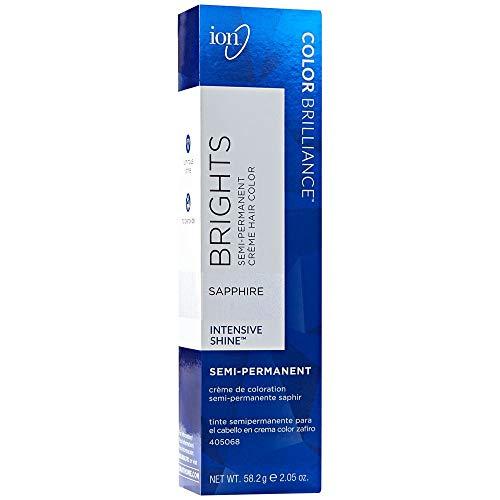 Ion Sapphire Semi Permanent Hair Color Sapphire