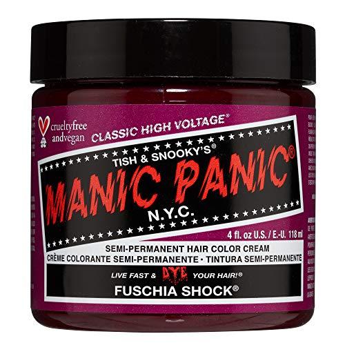 MANIC PANIC Fuschia Shock Hair Dye Classic