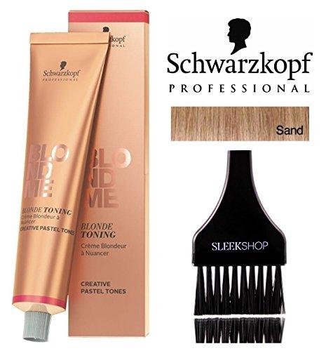 Schwarzkopf Professional Blond Me Blonde Toning (NEW VERSION - 2.1 oz); includes'Sleek Tint Brush'...