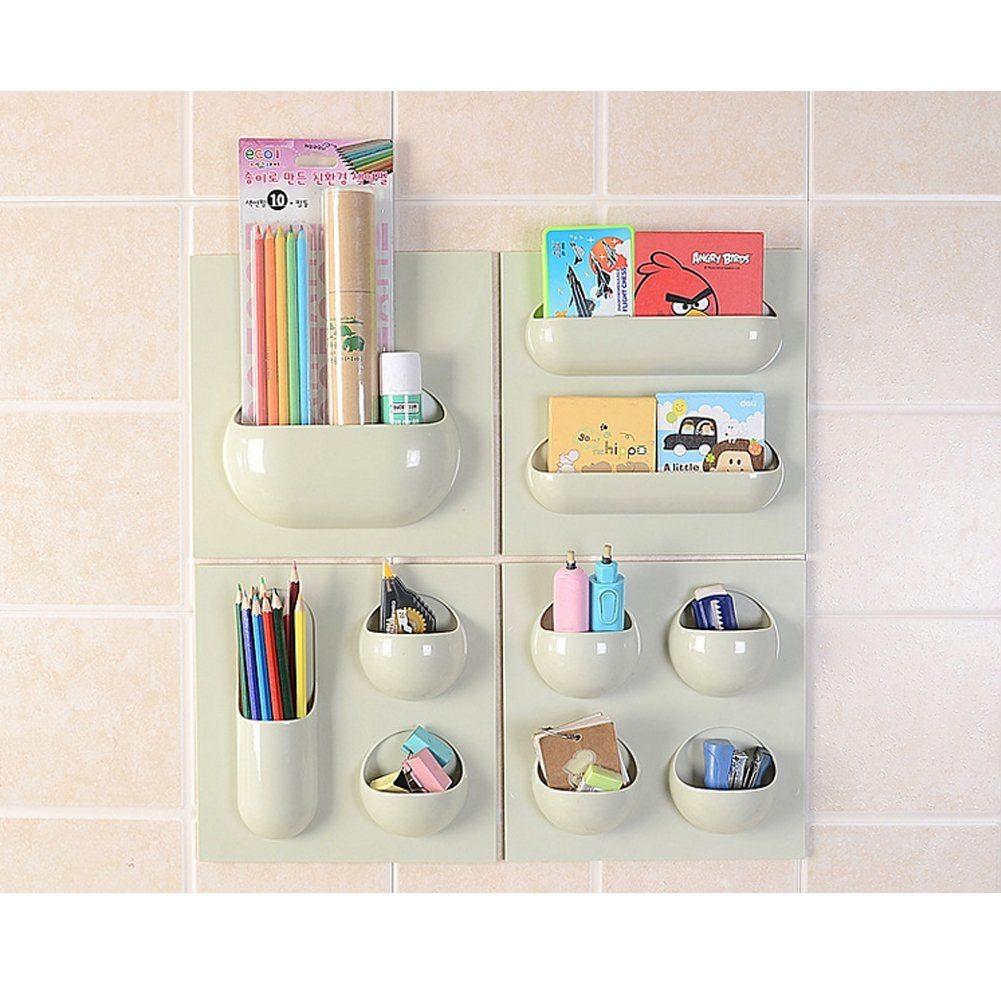 Easy Installation Bathroom Kitchen Wall Organizer