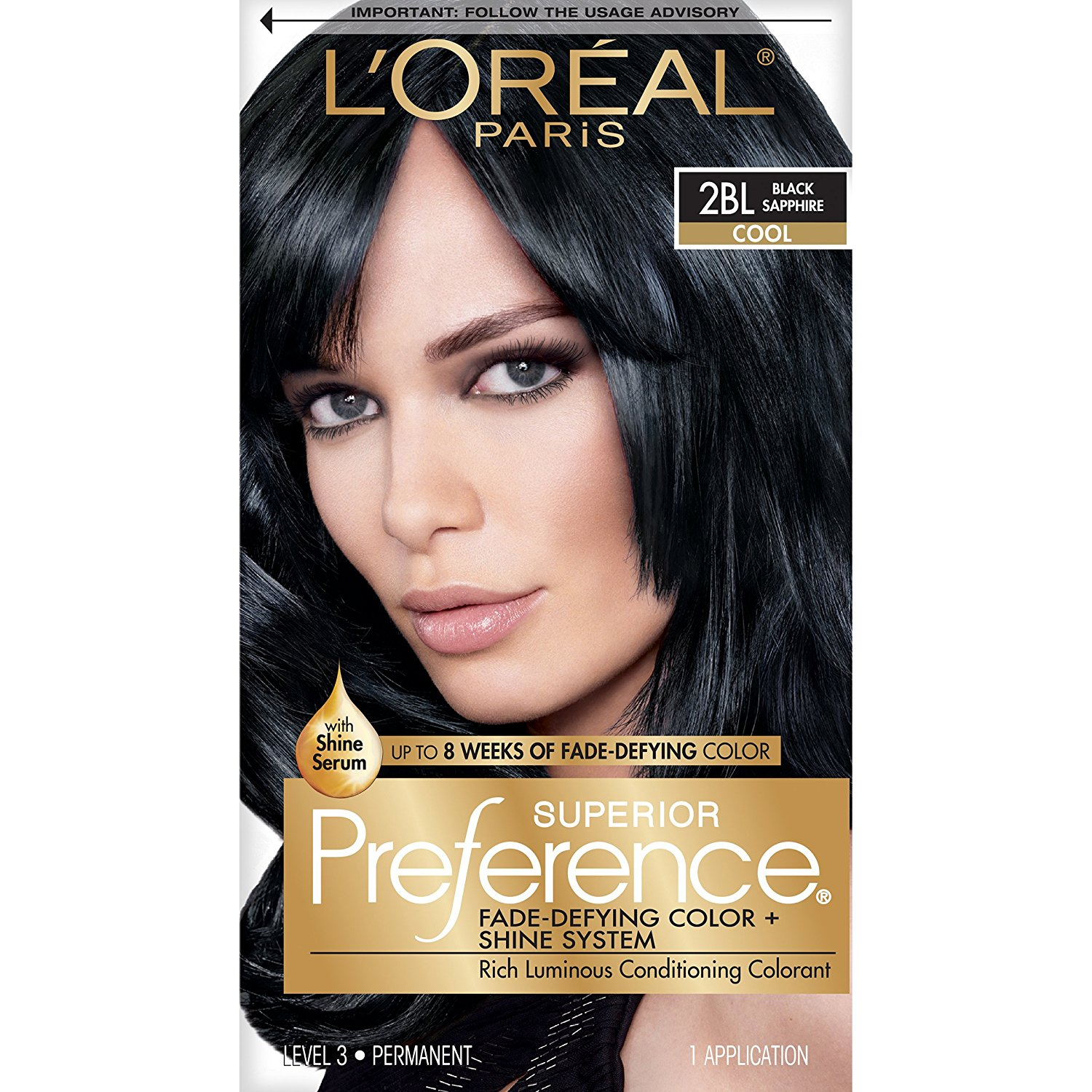 Loreal Paris Preference Sapphire Black Beauty With Arianna
